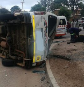 Several injured in fatal minibus crash at Polokwane City