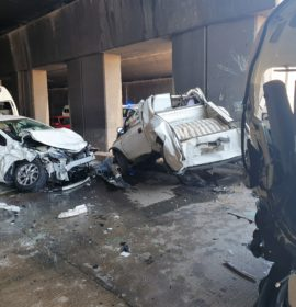20 People injured in a Pile up in Durban