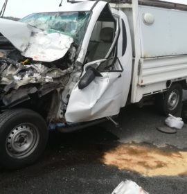 N1 crash leaves two injured in Randburg