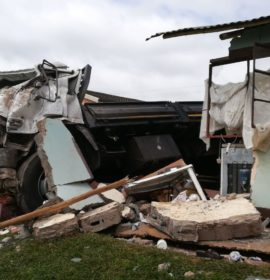 Two woman die as truck crashes through there home in Pietermaritzburg
