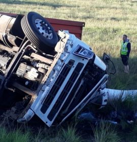 One injured in rollover on the N3 between Montrose and Harrismith