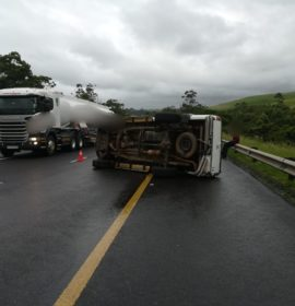 Rollover on the N2, Umzinto.