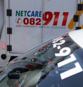 40-year-old man crushed by truck