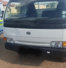 Stolen Nissan Cabstar recovered in Seshego