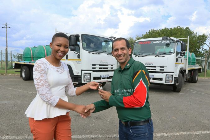Isuzu Supports Drought Relief in Makhanda