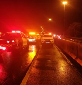 Several injured in multiple vehicle and truck crash on the N12 West, Benoni