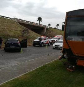 Netcare 911 responded to reports of a collision on Constantia Boulevard in Constantia Kloof, Roodepoort