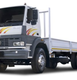 Comprehensive Tata and Daewoo Truck ranges on show at Nampo