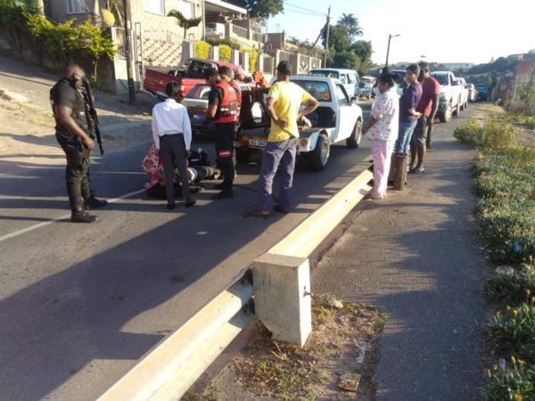 13 Year old falls off tow truck in Trenance Park