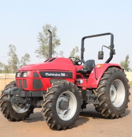 Mahindra showcases full product range at NAMPO