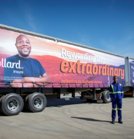 Hollard Trucking confirms commitment to the safety of truck drivers, fleets and cargo!