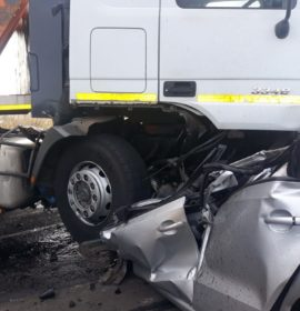 Woman killed in collision with a truck on the N17
