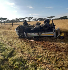 Truck overturns leaving one dead, twenty-two others injured in Wartburg