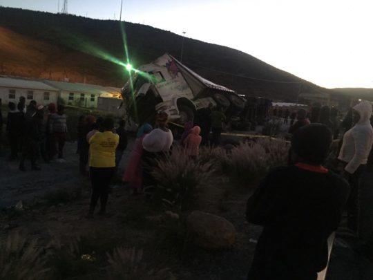 Truck driver killed after boulder pushed from bridge at De