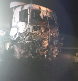 Truck driver injured in head-on collision on the N3, Harrismith