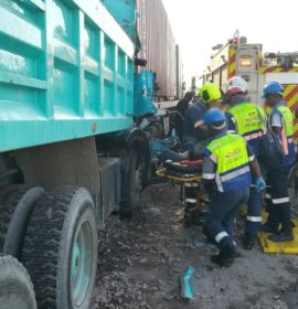KwaZulu-Natal: One critical, two others injured in Durban crash