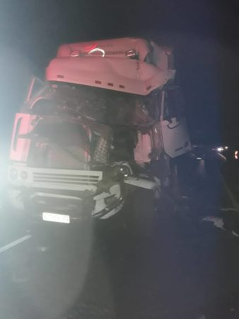Truck collision on the N3 South leaves one injured