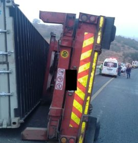 Truck collision on the N3