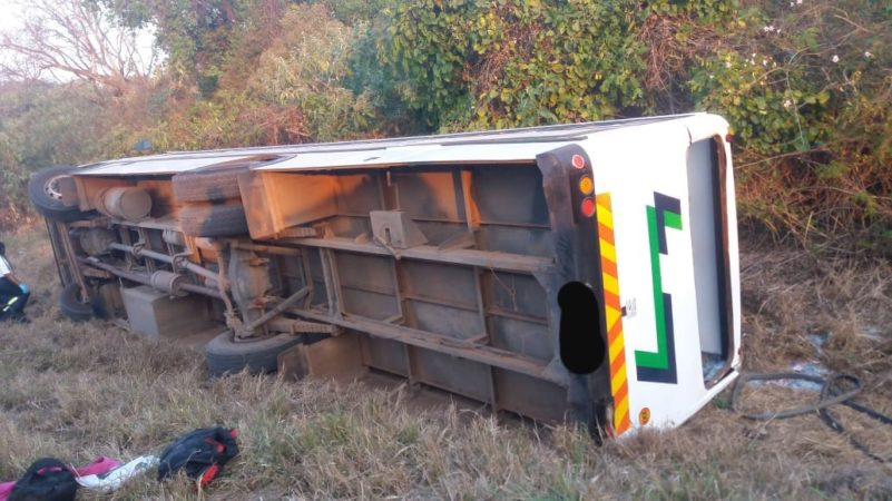 23 Injured in bus rollover along the R36 outside Tzaneen