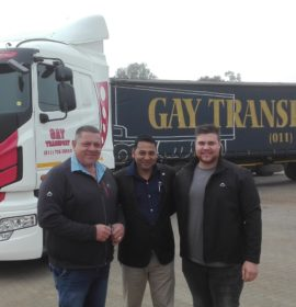 Daewoo Trucks meet Gay Transport values