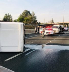 Two injured in collision in Bryanston