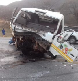 Two drivers and 3 passengers injured at the Modjadji Cross, Limpopo