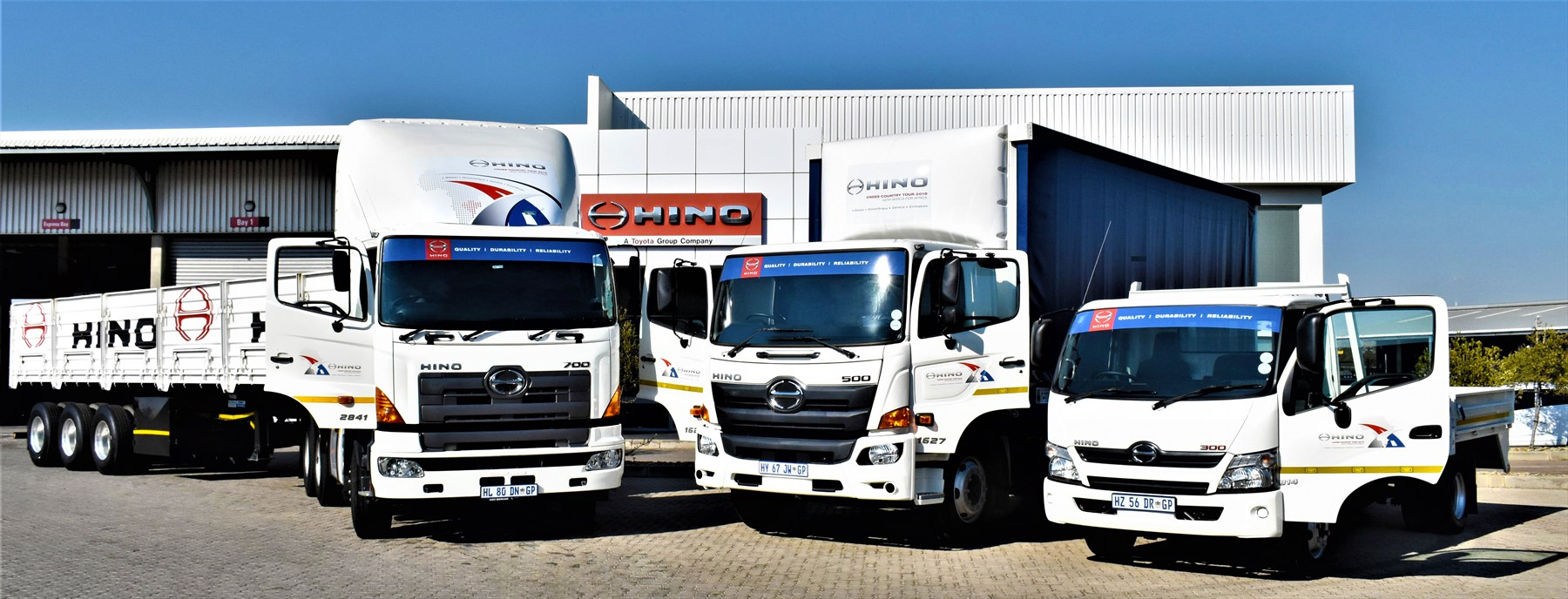 Hino's 50-day promotional roadshow into Africa proves