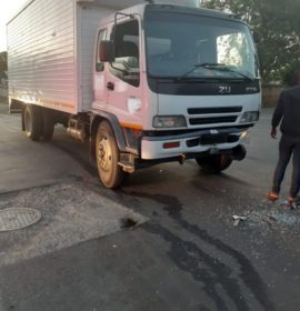 A collision between a truck and vehicle leaves one injured in Harrismith
