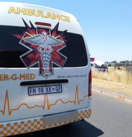 Two-truck collision leaves one injured in Boksburg