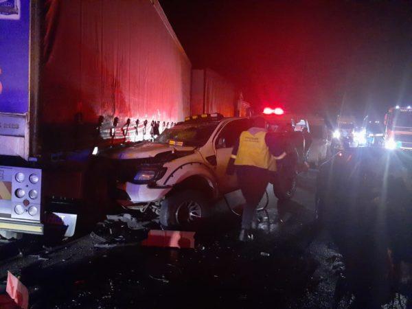 Four injured in collision between Harrismith and Van Reenen's