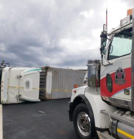Several injured in truck crash on the N3 North, 10 km before Warden.