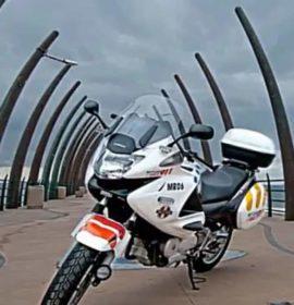 KwaZulu-Natal: Motorcyclist injured after delivery truck parcel falls off