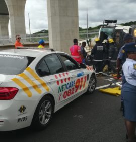KwaZulu-Natal: Truck driver freed using Jaws of Life at rollover on the N2