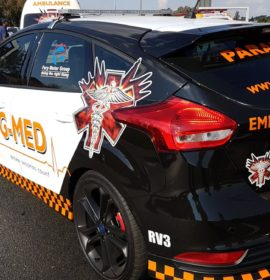One dead in a truck and vehicle collision on the R40