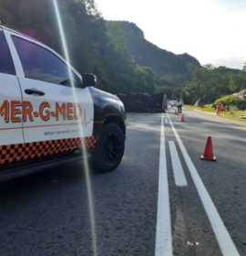 One injured in a truck collision on the N4
