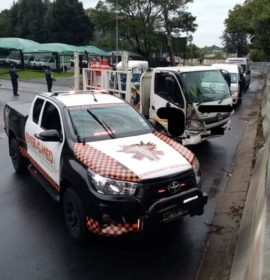One injured in a truck collision in Wynberg