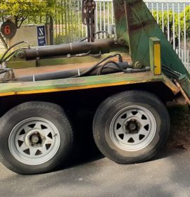 Tyres and rims stolen from a storage yard in Tongaat