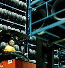 Bridgestone commercial unit keep essential logistics ticking