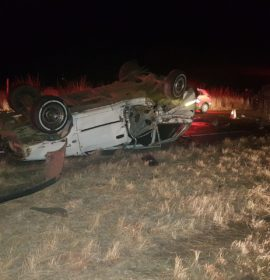 Two killed, twelve injured in a serious collision between a truck and vehicle in Delmas