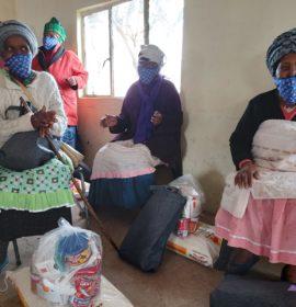 Engen helps bring hygiene and clean water relief to Mooiplaas community