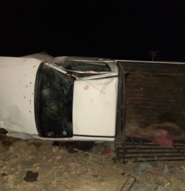 Three injured in a rollover crash at Harrismith