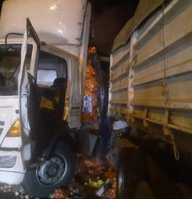 Four injured in truck collision on the N3 between Harrismith and Montrose