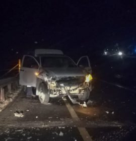 One person injured in collision into truck on the Midway N3 bridge