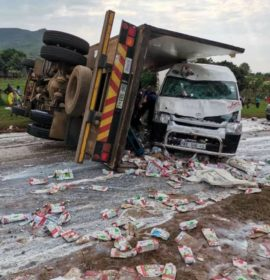 Several injured in near horror crash in Limpopo