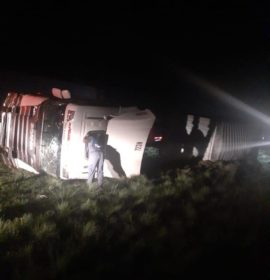 One injured in a truck collision on the N3