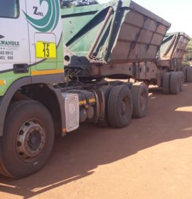 Hawks seize truck found with alleged stolen chrome worth R90 000 in Rustenburg