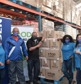 Engen and FoodForward SA stand together for World Food Day