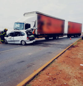 Man killed in collision with a truck near Kliprivier