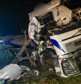 Truck driver seriously injured after crash into tree, Tugela