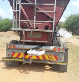 Hawks seize truck found with alleged stolen chrome worth R120 000 in Rustenburg